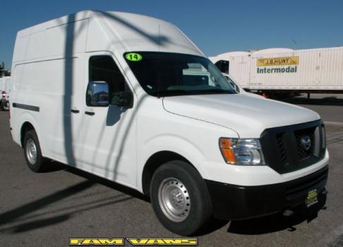2014 Nissan NV Cargo NV3500 HD Cargo Van