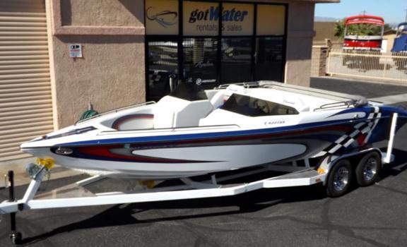2012 Cheetah VDart Open Bow Jet Boat 23'