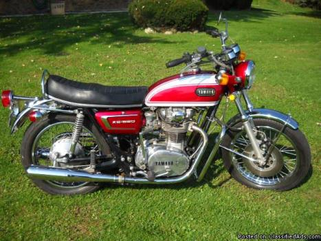 1972 yamaha xs650 motorcycles for sale