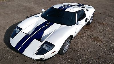 Ford : Ford GT GT 2005 ford gt centinnial white 5 th 6 th options 21 000 miles video