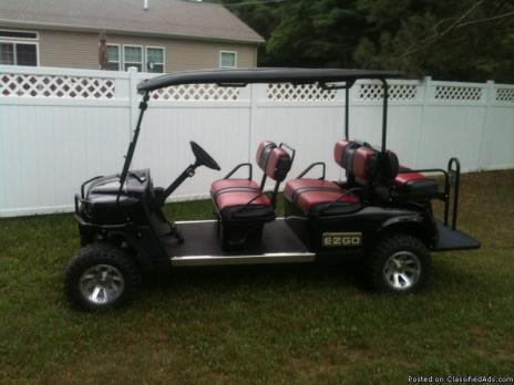 2008 EZGO GAS GOLF CART