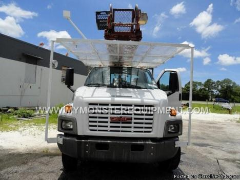 2007 GMC 6500 Wilkie Ladder Bucket Boom Truck – 20139