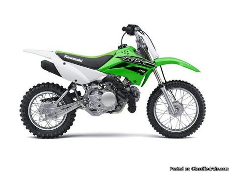New 2015 Kawasaki Kids Dirt Bikes, Just In Time For Christmas