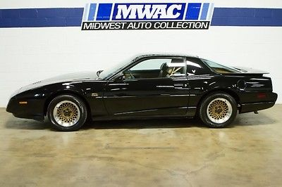 Pontiac : Trans Am Trans Am Coupe 2-Door LEATHER~350CI~RARE WS6 PACKAGE~BLACK/TAN~WOW~ONLY 24K MILES~