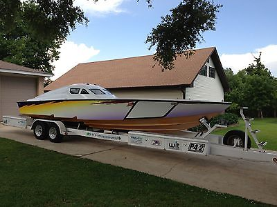 1997 29' scarab race boat powerboat