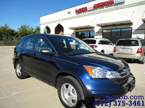 2011 Honda CR-V LX 1 Owner CARFAX Cert. Personal Lease Return 27k mi Fctry Wrnty Non Smoker Clean
