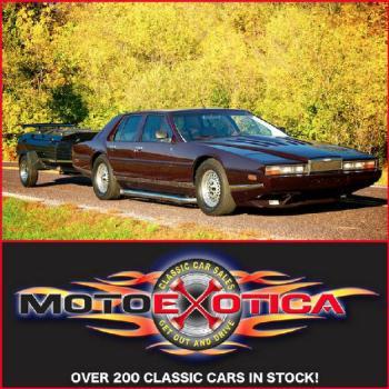 1984 Aston Martin Lagonda (owned By Robert for: $109900