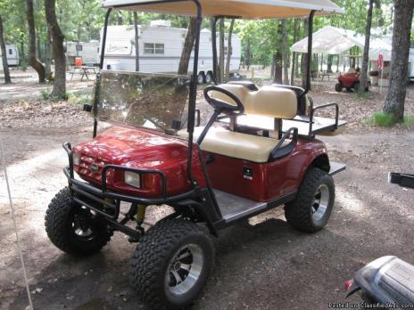 gas powerd golf cart