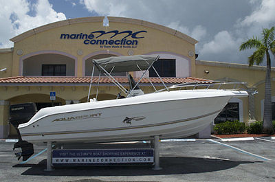 Used 2003 Aquasport 205 Osprey Center Console, Suzuki 225HP, Great shape