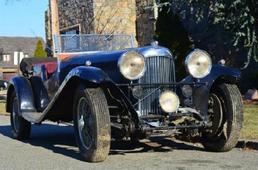 1934 Aston Martin lagonda - Gullwing Motor Cars, Inc., Astoria New York