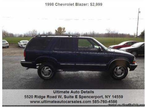 1998 Chevy 4x4 Cars For Sale