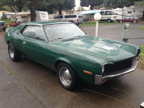 1971 AMC javelin AMX for: $12000