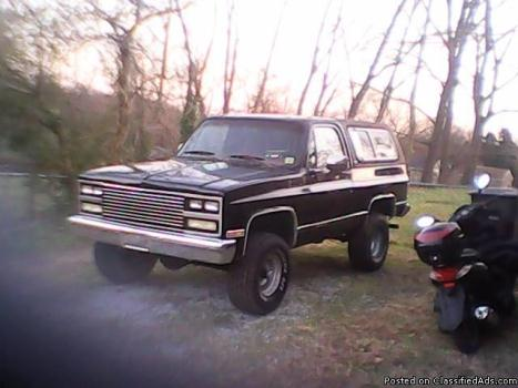 1990 Chevy Blazer Fully Loaded