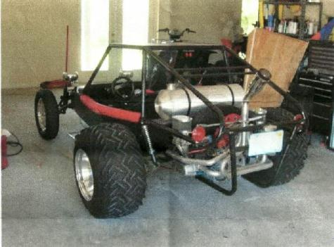 1974 Volkswagen Dune Buggy for: $10500