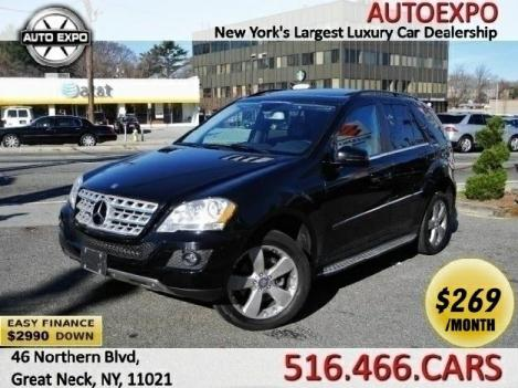 2011 Mercedes-benz Ml-class ml350 4matic Easy finance w/ $2990 down