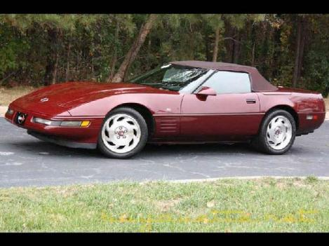 1993 Chevrolet Corvette for: $13999