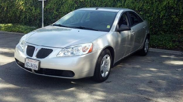 2008 Pontiac G6 Value Leader Cars For Sale