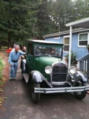 1928 Ford Model A for: $12999