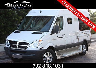 2008 Dodge Sprinter Pleasure Way ASCENT-TS 2500 Class B RV Powered by Mercedes