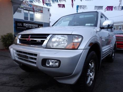 2001 Mitsubishi Montero Limited Paterson, NJ
