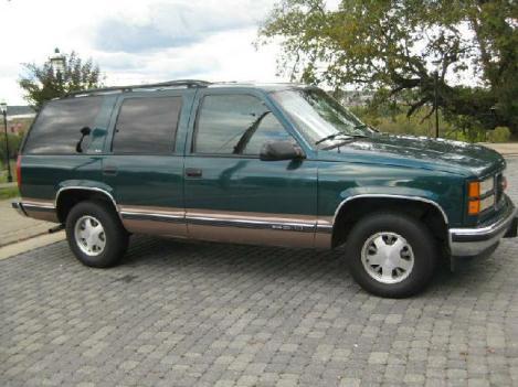 1995 Gmc Yukon Cars For Sale