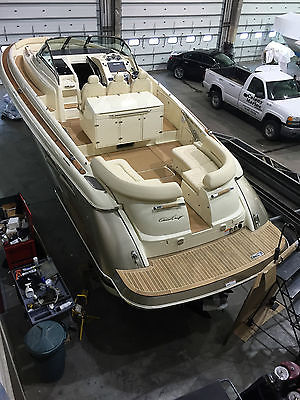 2015 Chris Craft Launch 36 Heritage Edition Loaded Joystick never been splashed!