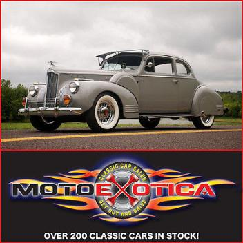 Packard : One-Twenty Coupe 1941 packard one twenty beautiful restoration investment grade dual mounts