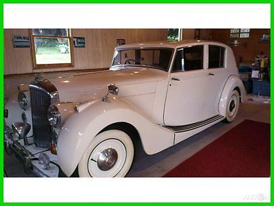 Bentley : Other Classic 1948 Bentley Mark VI Used Automatic RearWheelDr