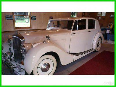 Bentley : Other Classic 1948 Bentley Mark VI Used Automatic RearWheelDr