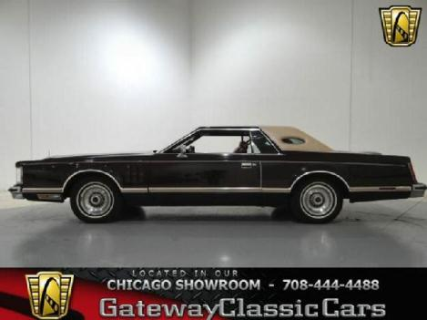 1978 Lincoln Continental for: $13995