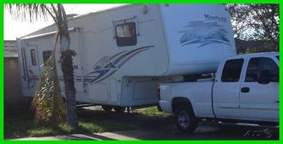2001 Keystone Montana M2955RL 30' Travel Trailer 2 Slide Outs Very Clean OREGON