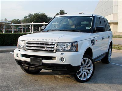 Land Rover : Range Rover Sport 4WD 4dr SC SPORT SUPERCHARGED,AWD,TOUCH SCREEN,NAVIGATION,FULLY LOADED,DUAL HEAD REST VIDEO