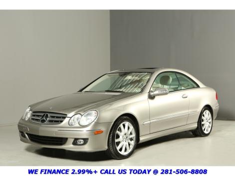 Mercedes-Benz : CLK-Class CLK350 Coupe CLEAN CARFAX 49K MILES SUNROOF LEATHER WOOD 17