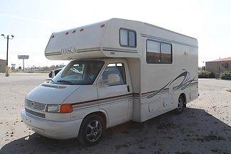 used rv 2003 Sunstar VW V6 45k miles Sleeps 6 Texas Rialta Vista Free Delivery