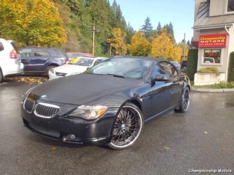 2004 BMW 645 ci Redmond, WA