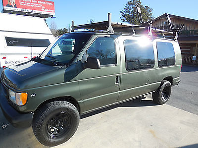 2002 Ford E-150 Custom Camper Van,  Kayak / Canoe Rack, Only 94K Miles, Video