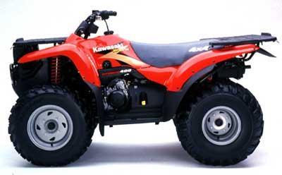 2000 Kawasaki Prairie 400 4X4