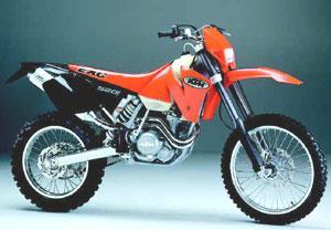 2002 KTM 520 EXC