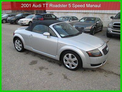 Audi : TT Base Convertible 2-Door 2001 audi tt roadster used turbo 1.8 l i 4 20 v 5 speed manual convertible premium
