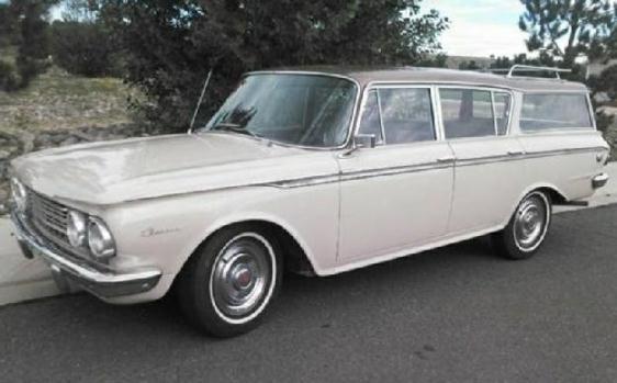 1962 Amc Rambler for: $13000