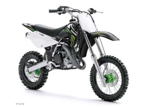 2009 Kawasaki KX65 Monster Energy