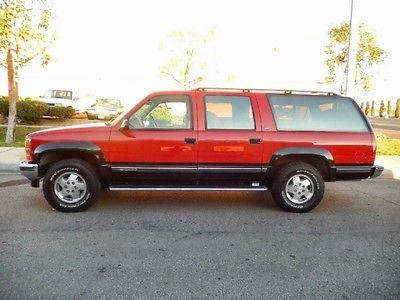Chevrolet : Suburban SILVERADO 1993 chev suburban 4 x 4 with whipple supercharger