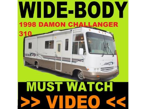 1998 Damon Challenger 310 Chevy 454 33 FEET ONLY 22K MILES EXTRA CLEAN MUST WATCH A VIDEO!