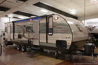 New 2015 274DBH Lite Bunkhouse Travel Trailer Camper with Bunks Slide Never Used