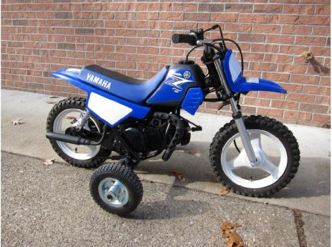 Yamaha Pw50 With Training Wheels Motorcycles for sale