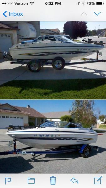 2007 Glastron mx175 runabout