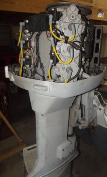 150 HP Johnson 2 stroke Engines Model J150TXCRD