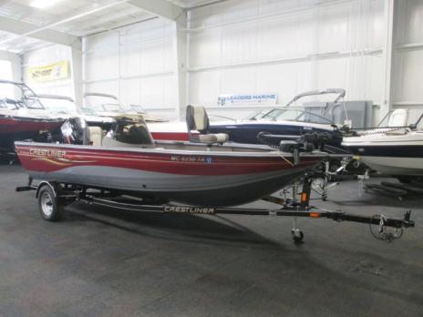 2007 Crestliner 1700 Fish Hawk SC w/Mercury 90hp outboard!