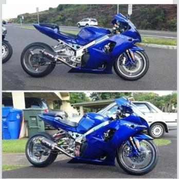 2003 gsxr1000 16200 miles never laid down