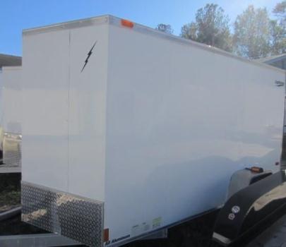 All Aluminum 6x10 Enclosed Trailer